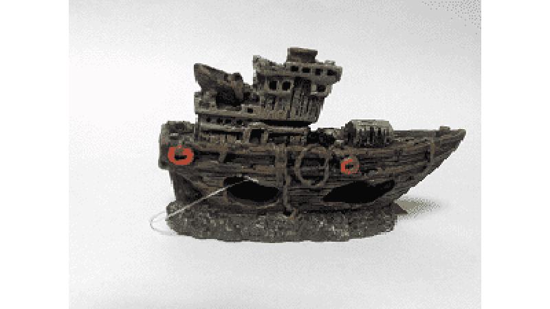 Изкуствена декорация - Кораб S