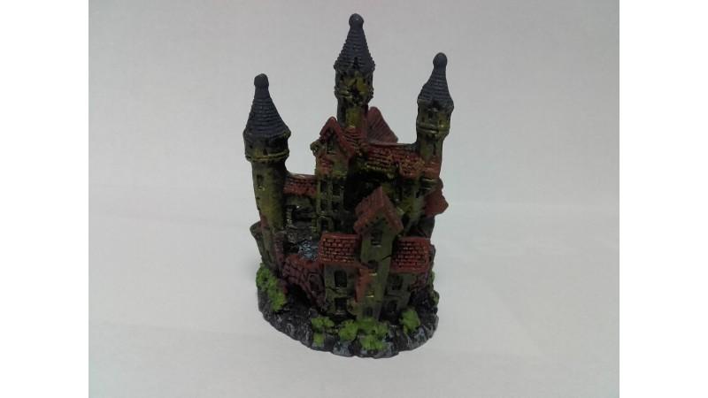 Изкуствена декорация - Замък с три кули