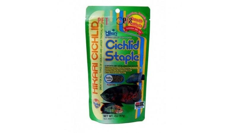 Hikari Cichlid Staple Food Baby Pellet 57g aquarium fish food