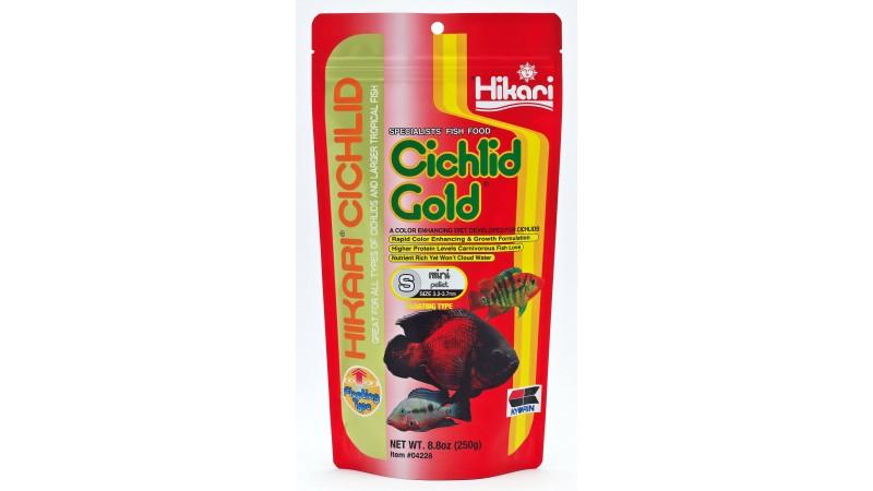 Hikari Cichlid Gold Baby Pellet 57g Floating Food aquarium fish food