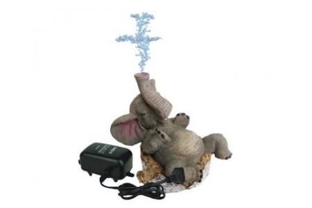 """Изкуствена декорация - Слонче с """"въздух"""""""