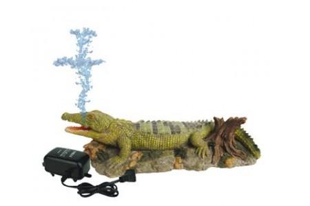 Изкуствена декорация - Крокодил с въздух