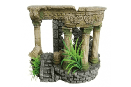 Roman wall aquarium decoration