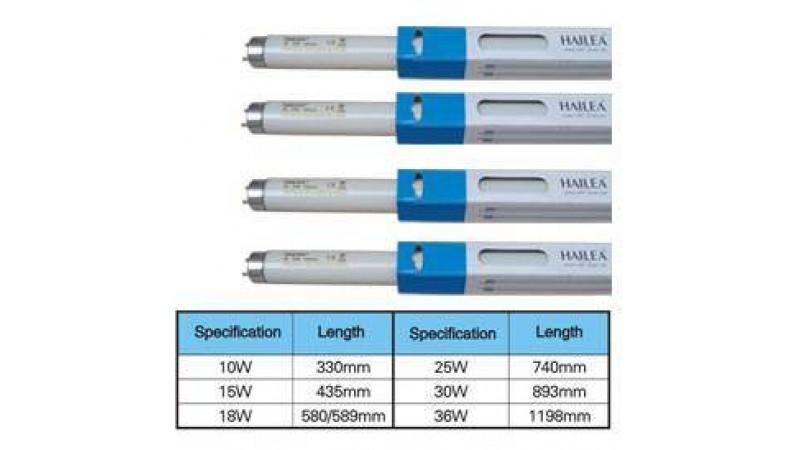 Φθορίο Hailea Т8 18W Fresh water- λευκό