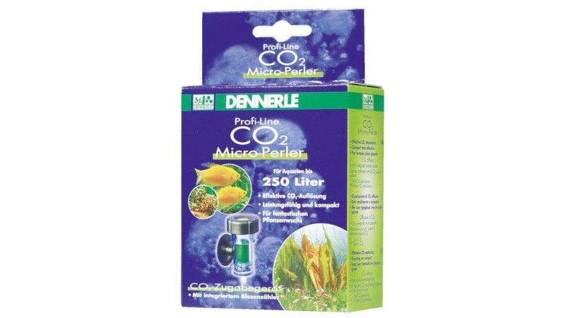 CO2 дифузер с брояч на балончета за аквариуми до 250 L Dennerle ProfiLine CO2 MicroPerler