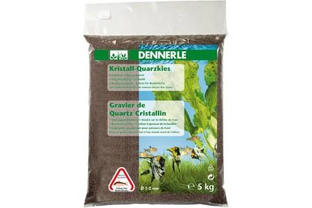 Грунд за дъно Dennerle gravel dark brown 1-2mm 5kg
