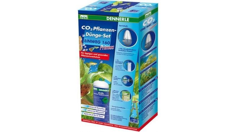 Пълен комплект за снабдяване с CO2 за аквариуми до 160 литра Dennerle CO2 fertilizer kit 160 PRIMUS