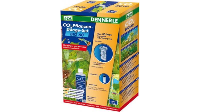Пълен комплект за снабдяване с CO2 за аквариуми до 60 литра Dennerle BIO CO2 60 Complete Set