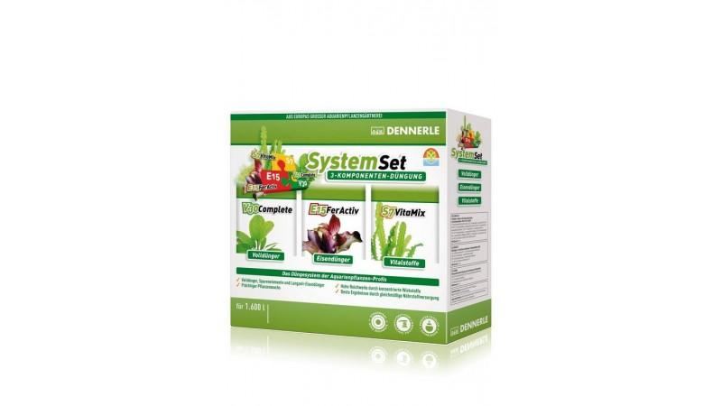 Сет от 3 вида тор за растения Dennerle Perfect Plant SystemSet 50 мл. за 1200л