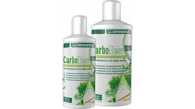 Течна тор базирана на естествен чист въглерод Dennerle Carbo Elixier Bio 250 мл.