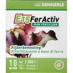 Supliment de fier sub forma de tablete pentru plantele de acvariu Dennerle E15 FerActiv 10 tab.