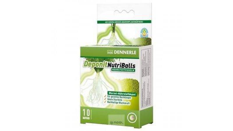 Тор под формата на топчета за аквариумни растения Dennerle Nutriballs 10 бр.