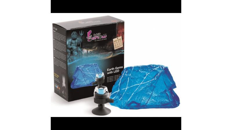Декорация за аквариум Hydor BLUE SAPPHIRE DECO AND BLUE LED LIGHT EU