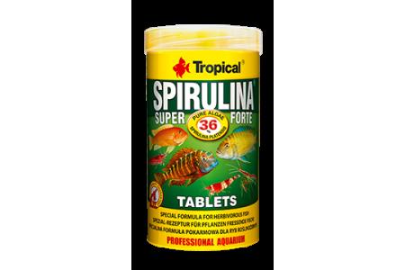 Храна под формата на таблетки Tropical Super Spirulina Forte Tablets 2кг