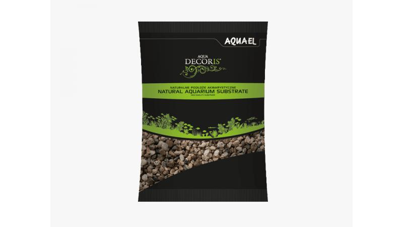 Натурален многоцветен грунд AquaEL 5-10мм 2кг / 10кг