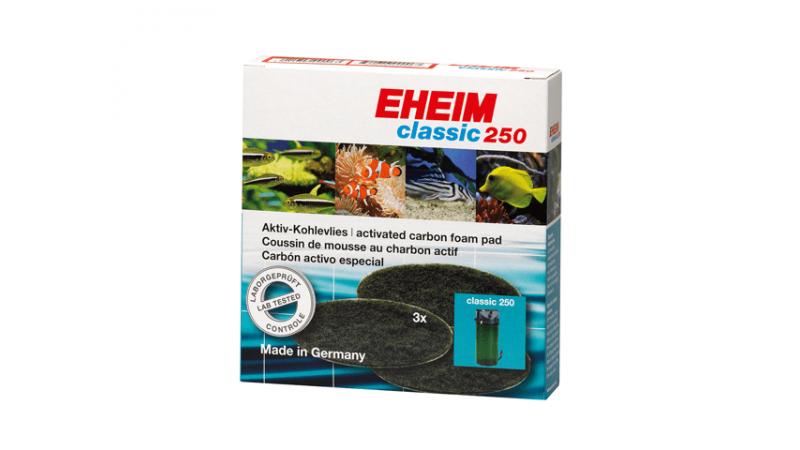 Вата от активен въглен за EHEIM Classic 250