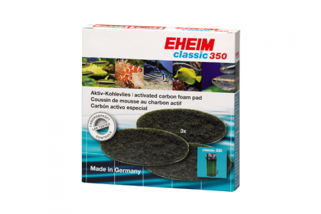 Вата от активен въглен за EHEIM Classic 350
