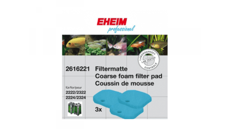 EHEIM Filter Pads for eXperience 150/250 - 3 Coarse pads