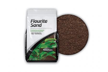 Пясък Seachem Flourite Sand 0.2-1мм 3.5кг
