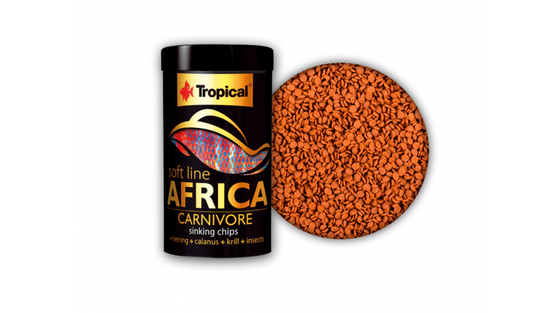 Храна под формата на чипс Tropical Africa Carnivore 100 мл./ 52 гр.