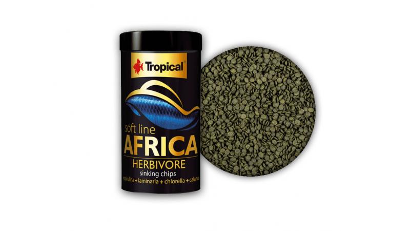 Храна под формата на чипс Tropical Africa Herbivore