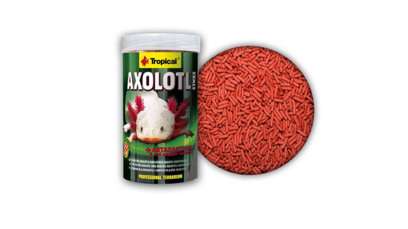 Специална високопротеинова храна за ашолотли Tropical Axolotl sticks 250 мл./15 гр.