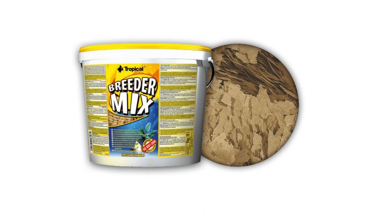 Многосъставна храна на люспи Tropical Breeder Mix 21л./4кг.