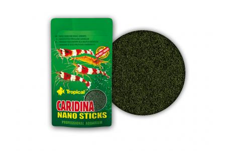 Основна храна за скариди Tropical Caridina Nano Sticks 10 гр.