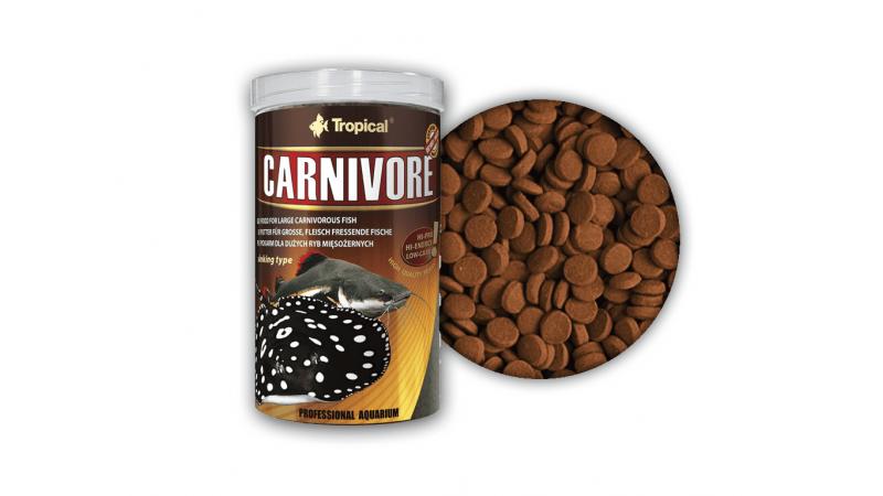 Храна на гранули за дънни риби Tropical Carnivore