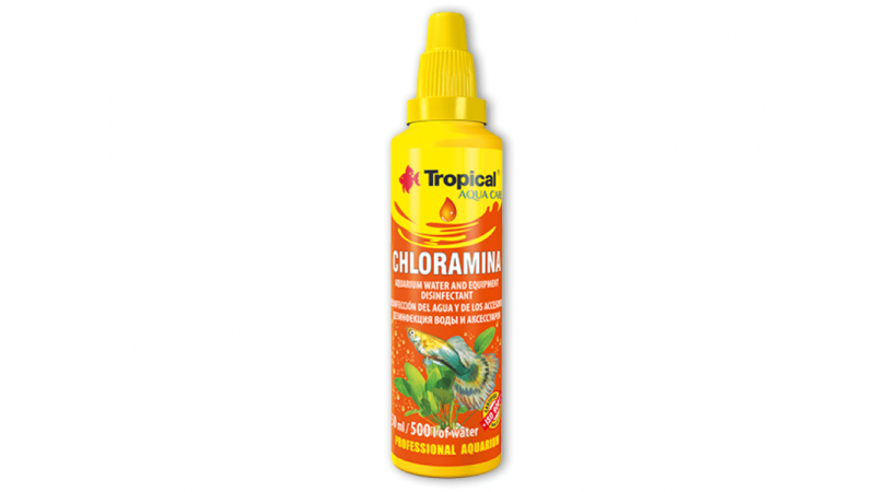 Substanta de dezinfectarea apei Tropical Chloramina 50 ml
