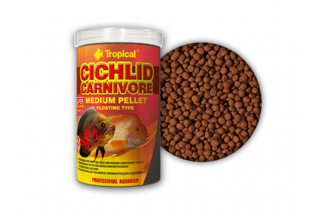 Храна за цихлиди Tropical Cichlid Carnivore Medium Pellet