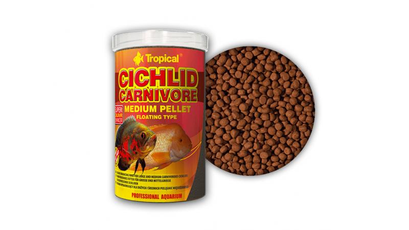 Храна за цихлиди Tropical Cichlid Carnivore Medium Pellet