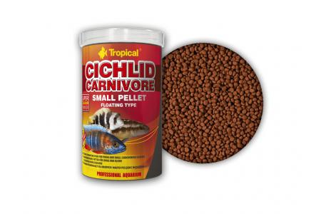 Tropical Cichlid Carnivore Small Pellet