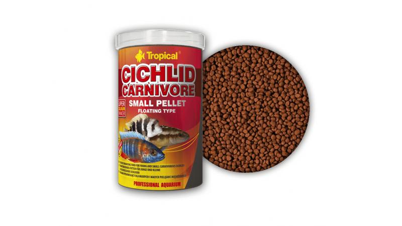 Храна за цихлиди Tropical Cichlid Carnivore Small Pellet