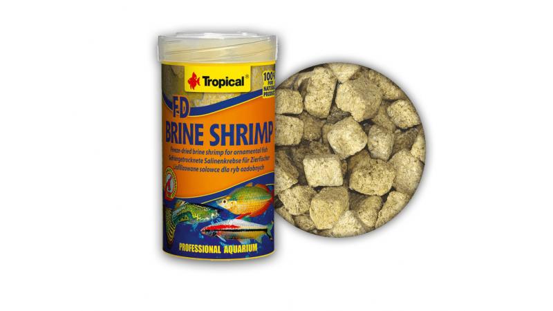 Храна на бучки Tropical FD Brine Shrimp 100 гр
