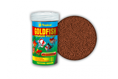 Храна за златни рибки Tropical GoldFish Colour Pellet