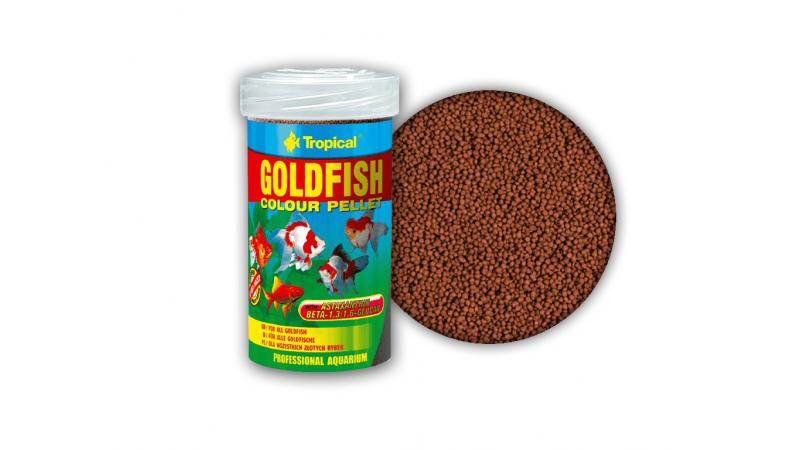Храна за златни рибки Tropical GoldFish Colour Pellet