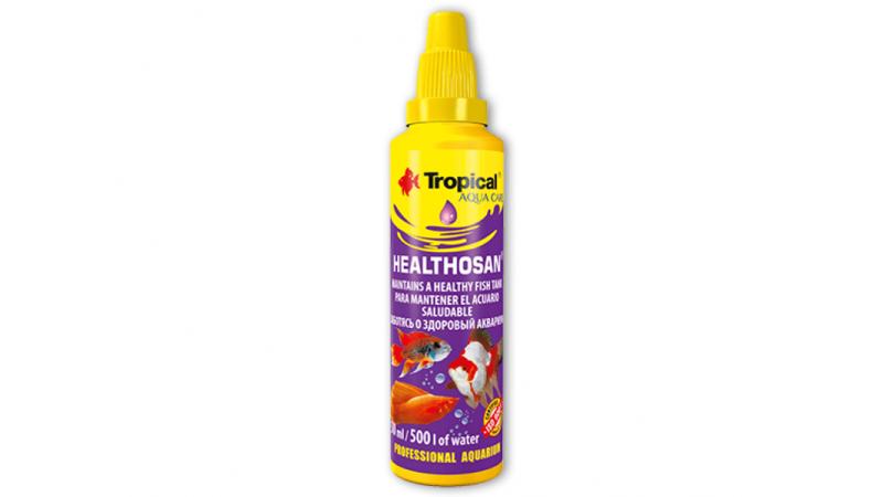 Аквариумен препарат с широка употреба Tropical Healthosan General healthcare product 50ml