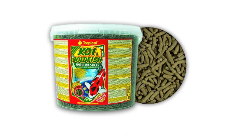 Tropical  Koi&Goldfish Spirulina Sticks