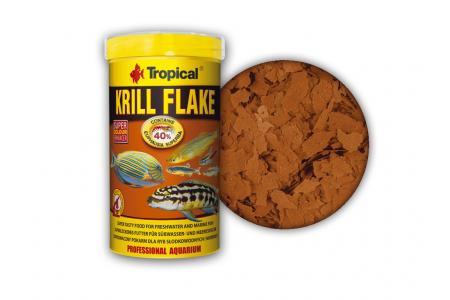 Храна за сладководни и морски риби Tropical Krill Flake 100 мл./20 гр.