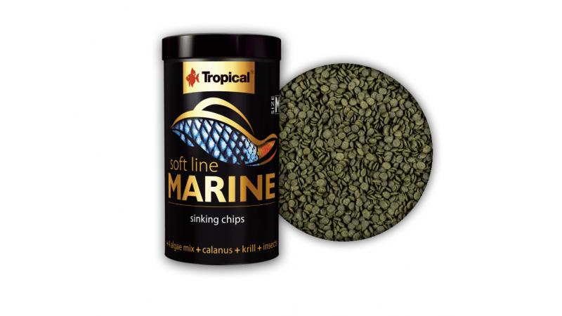 Храна за всеядни морски риби Tropical Marine Size M 250ml / 130g