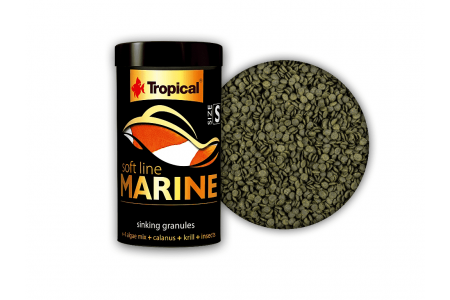 Храна на гранули за морски риби Tropical Marine Size S 100мл. / 60гр.