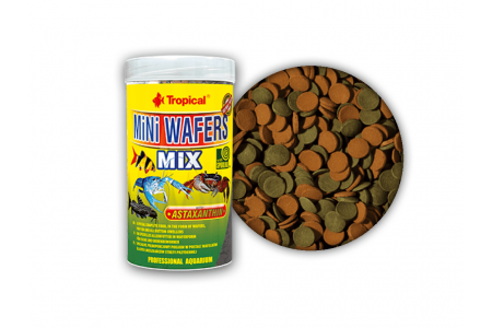 Многосъставна храна за всеядни риби Tropical MiNi Wafers Mix
