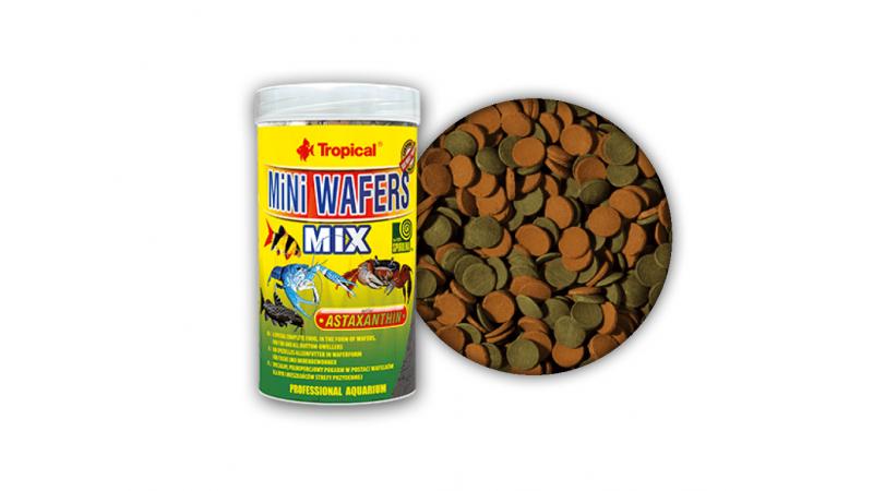 Многосъставна храна за всеядни риби Tropical MiNi Wafers Mix