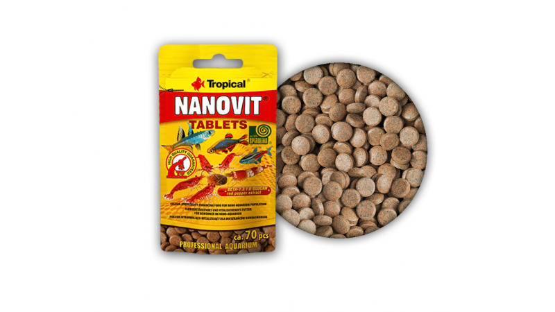 Tropical Nanovit tablets 10 g/70 tab.