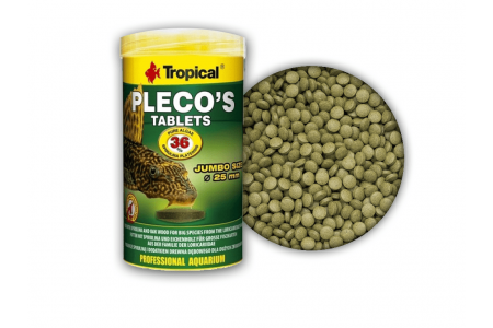 Растителна храна на таблетки Tropical Pleco`s tablets