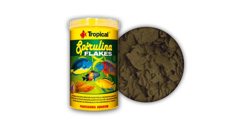 Растителна храна на люспи Tropical Spirulina Flakes