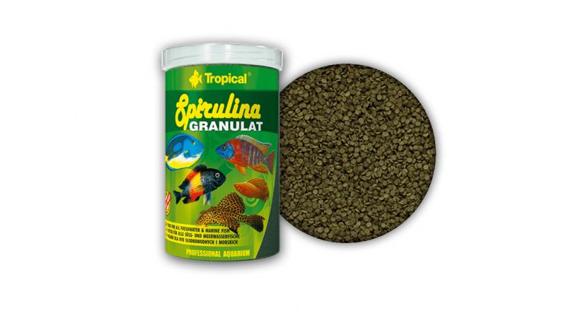 Растителна храна под формата гранули Tropical Spirulina Granulat