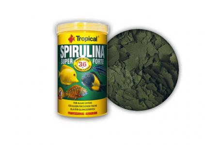 Растителна храна на люспи Tropical Super Spirulina Forte 36 %