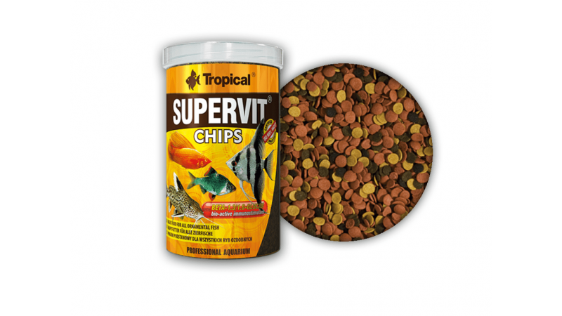 Tropical Supervit Chips 100ml / 52g
